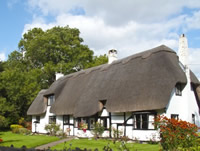 A luxury holiday cottage in Ireland